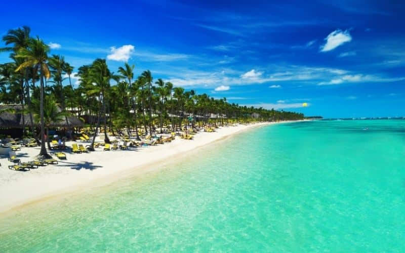 Punta Cana mar dei caraibi